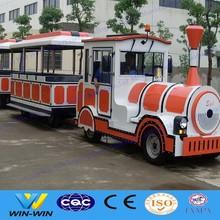 amusement park tourist road trains for sale, electric trains for adults