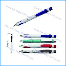 PP017 Popular Hot Pushed Action Plastic Disposable Ballpoint Pen