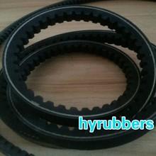 qingdao manufacturer raw edge cogged v belt, cutting v belts