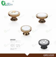 GERISS Unique design Zamak ceramic handles & knobs from China