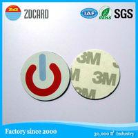 New design creative printable 125khz rfid pigeon foot ring rfid tag