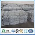 Electro galvanizado muro de gaviones se utiliza para la construcción civil/electrosoldado de alambre de gaviones de malla de muro de contención