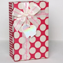 Fancy elegant jewelry packaging gift boxes with dot top