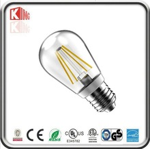 E27 filament led lamp 220V-240V 4W led filament bulb 360 degree filament led bulb E27 base replace 40W halogen bulb