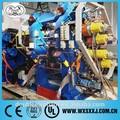 Xy-4f 560*1600 quatro rolos de máquina calendário de borracha de borracha folha
