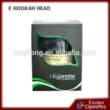 Higarette e hookah head electronic cigarette free sample free shipping wholesale