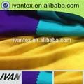 caliente la venta llano teñido single jersey lycra viscosa tela de punto