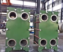 Customized plate heat exchangers for marine and industrial applications: stainless steel or titanium plates