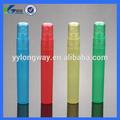 la pluma del aerosol botella de plástico pp perfumes cosméticos 8ml spray atomizador