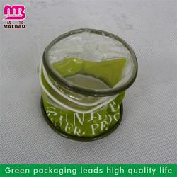 cheap raw material 2014 new zipper velvet cosmetic bag