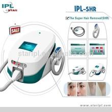 good feedback 1-10Hz IPL SHR machine ipl machine with intelligent fault identifing systems for convenient after sale