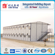 sandwich panel and steel structure modular house for living