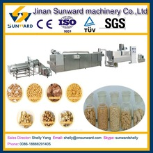 Stainless steel automatic soya protein chunk machine