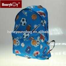 basketball printing durable comfortable high capacity sports backpack