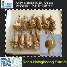 Ten Years Gold Supplier Radix Notoginseng Powder