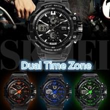 Waterproof Dual Time Zone best digital watches for men 2012
