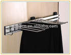 Top grade quality side-mounted trouser rack