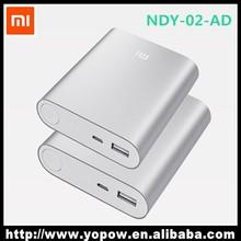Real Capacity 10400 mAh Xiami Power Bank, Original Xiaomi Power Bank, Wholesale 10400mAh Genuine Power Bank Xiaomi