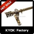 Kyok 10 anos de hastes de cortina dupla atacado& haste de cortina acessórios, cordões de cortina e acessórios