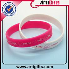 New fashion silicone rubber band bracelet patterns