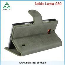 PU Case For Nokia Lumia 930, for Nokia Lumia Leather Flip Case, Wallet Case for Nokia Lumia 930