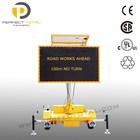 Informative Traffic LED Display Solar Warning Signs VMS Trailer