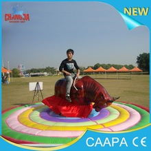 2015 Changda Amusement games adults Spotted cow mechanical bull rides