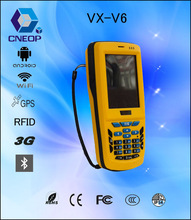 V6 wireless handheld PDA used for packing / tracking management