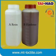 transparent two component epoxy crystal glue for circuit board electronic parts and components laminating adhesive