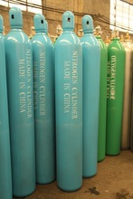 qualified export nitrogen seamless gas cylinder
