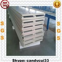 Steel Roof Sheeting PU Foam Sandwich Polyurethane Roof Panel