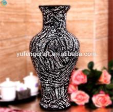crack mosaic mirror home decoration items vase