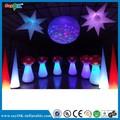 h2m cogumelo inflável inflável torre de iluminação decorações do partido