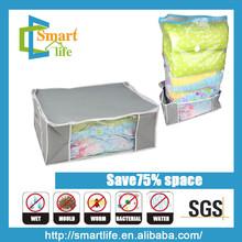 vacuum storage tote for bedding