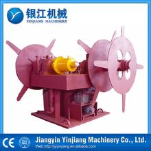 Double arm hydraulic uncoiler machine