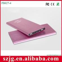 Dual usb power bank 10000mah for macbook pro /ipad mini