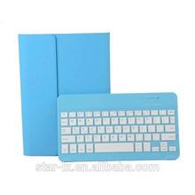 high quality Wireless Bluetooth Keyboard leather case for ipad mini