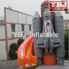 plane castle cheap hot sale guangzhou 2015 inflatable water slides china