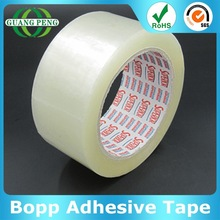 Popular Sealing Materials Water Base Acrylic Adhesive Bopp Gummed Tape With Custom Color And Size