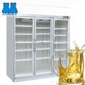 lojas de conveniência três vertical porta de luxo freezer mostrar