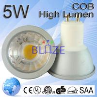 High Quality Led Cob Gu10 MR11 2500 2700-7000k LED 5W