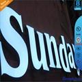 3d led al aire libre signo logotipo para la publicidad