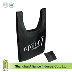 Promotional Nylon/Polyester Folding Tote Bag Foldable shopping bags