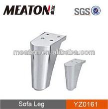 High quality chrome plated furniture leg