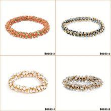 china female rock rivet bangles
