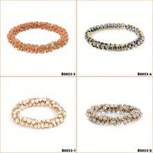 popular female rock rivet bangles