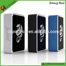 Vapor flask Smaug box factory price alibaba 40 w vapor flask v3