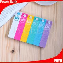 High capacity/high compatible cylindrical milk powerbank 1800mah power bank factory