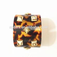 tortoise cuff for pretty girl rivet bracelet