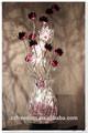 Lámpara de mesa led/regalo promocional/flor púrpura sombra
